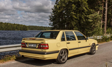 Volvo 850 T-5R, Heckansicht