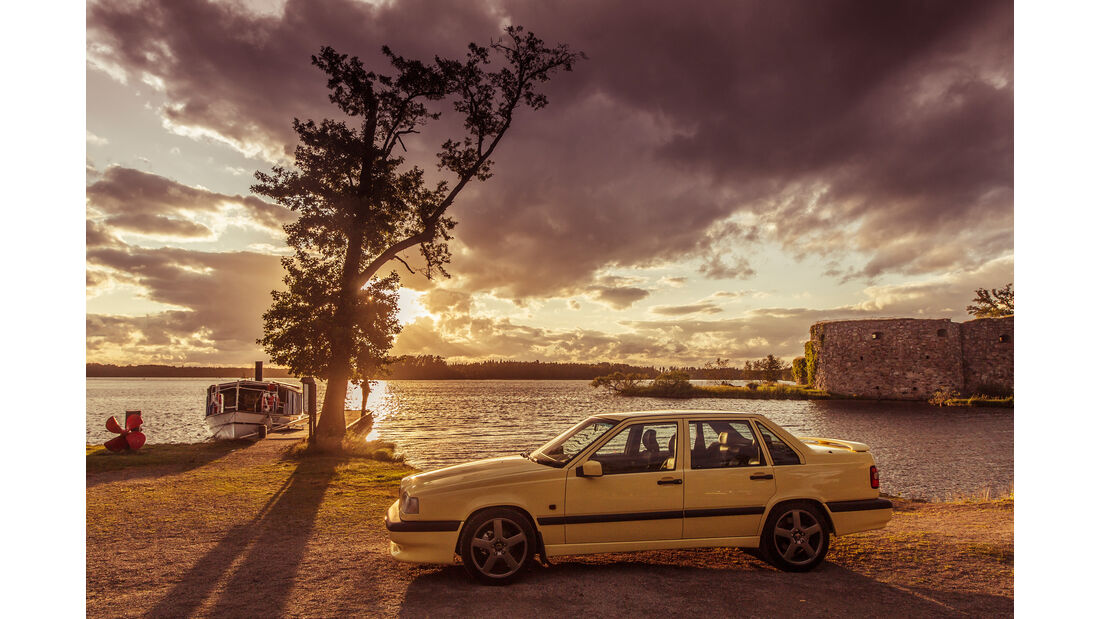 Volvo 850 T-5R, Seitenansicht