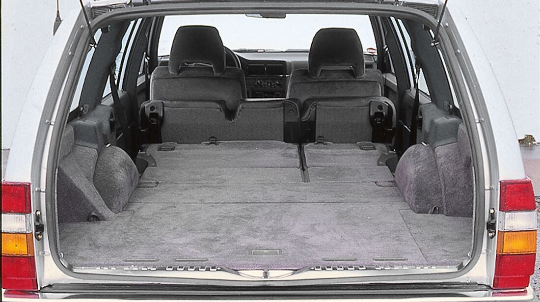 Volvo 940 Kombi, Kofferraum, Ladefläche