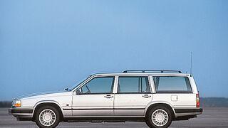 Volvo 940 Kombi, Seitenansicht
