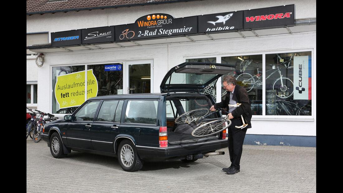 Volvo 960 Station Wagon, Heckklappe