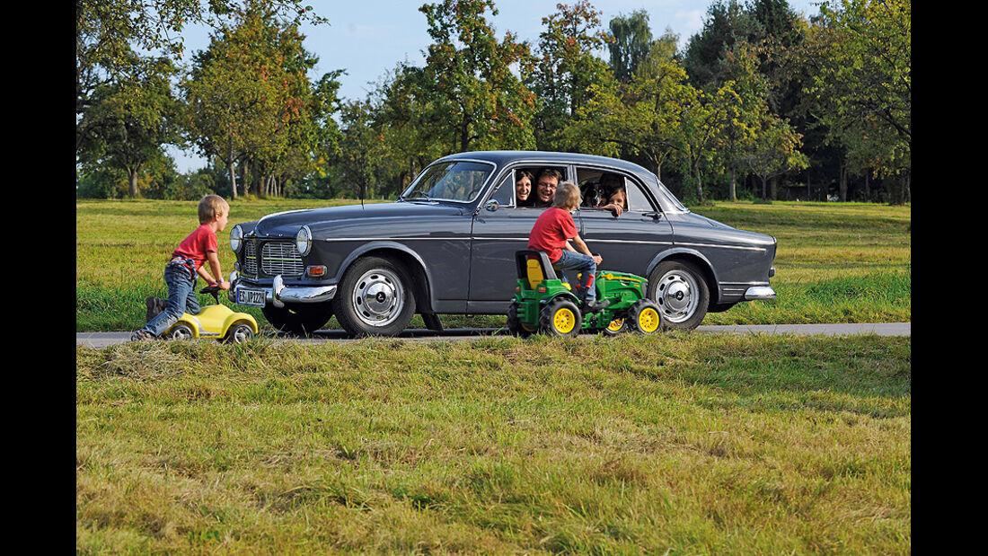 Volvo Amazon 122S,Seitenansicht