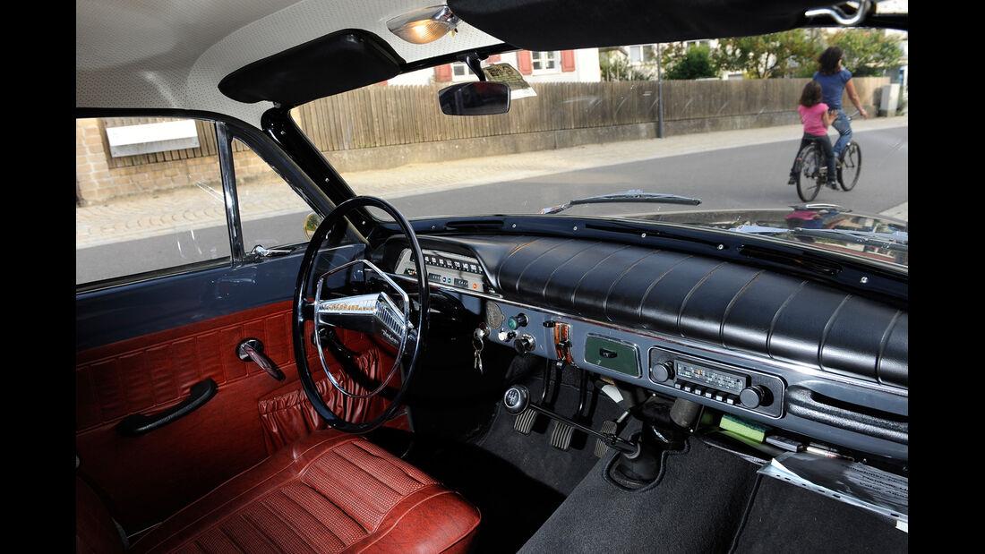 Volvo Amazon, Cockpit, Lenkrad