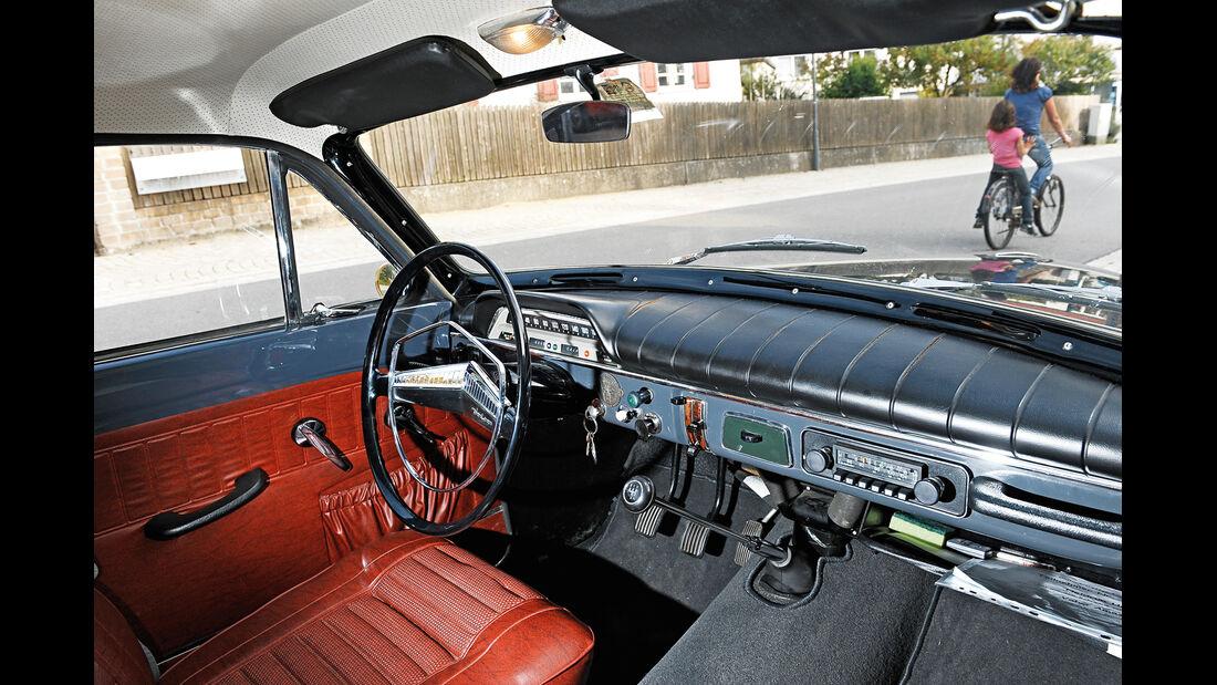 Volvo Amazon P 121,122 S, Cockpit