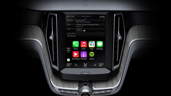 Volvo Apple Car Play,03/2014