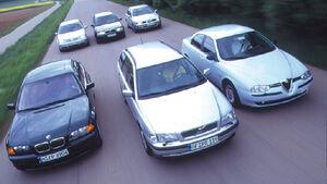 Volvo, BMW, Skoda, Alfa Romeo, Volkswagen und Seat