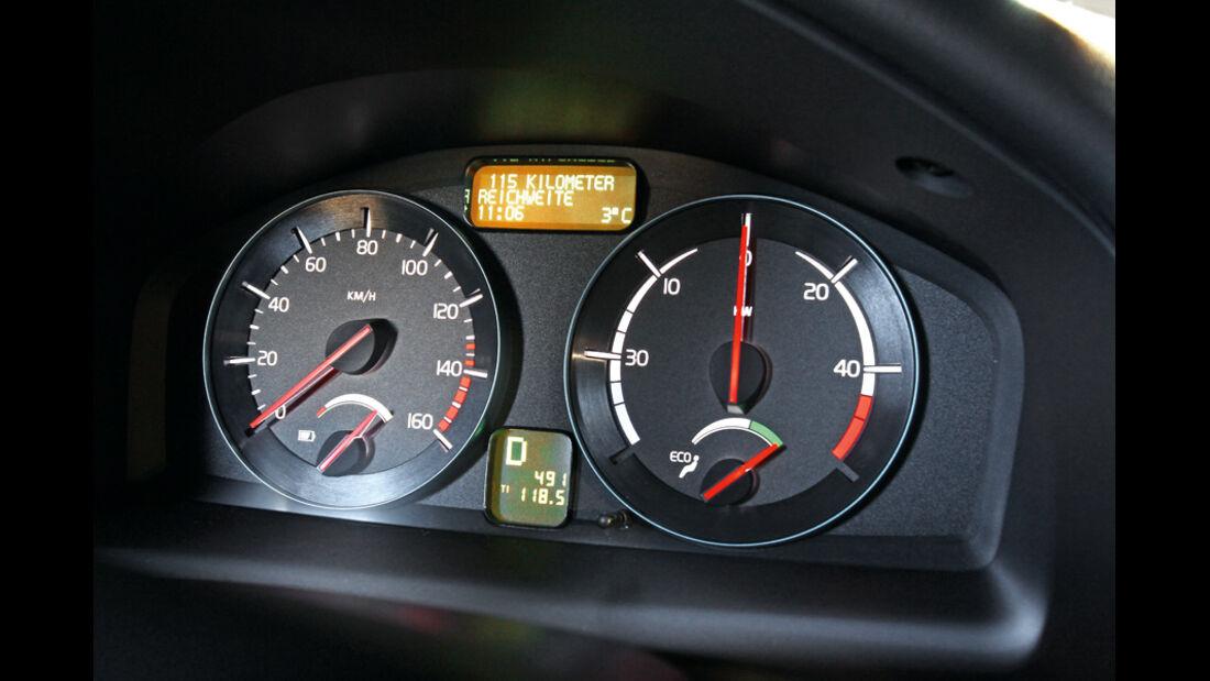 Volvo C30 Electric, Rundinstrumente