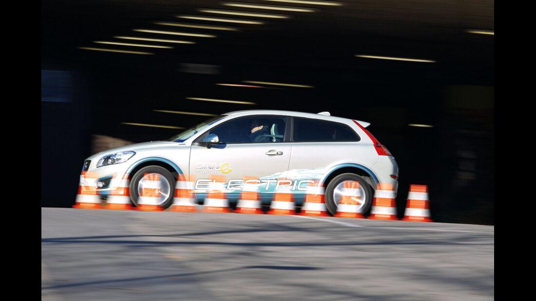 Volvo C30 Electric, Seitenansicht