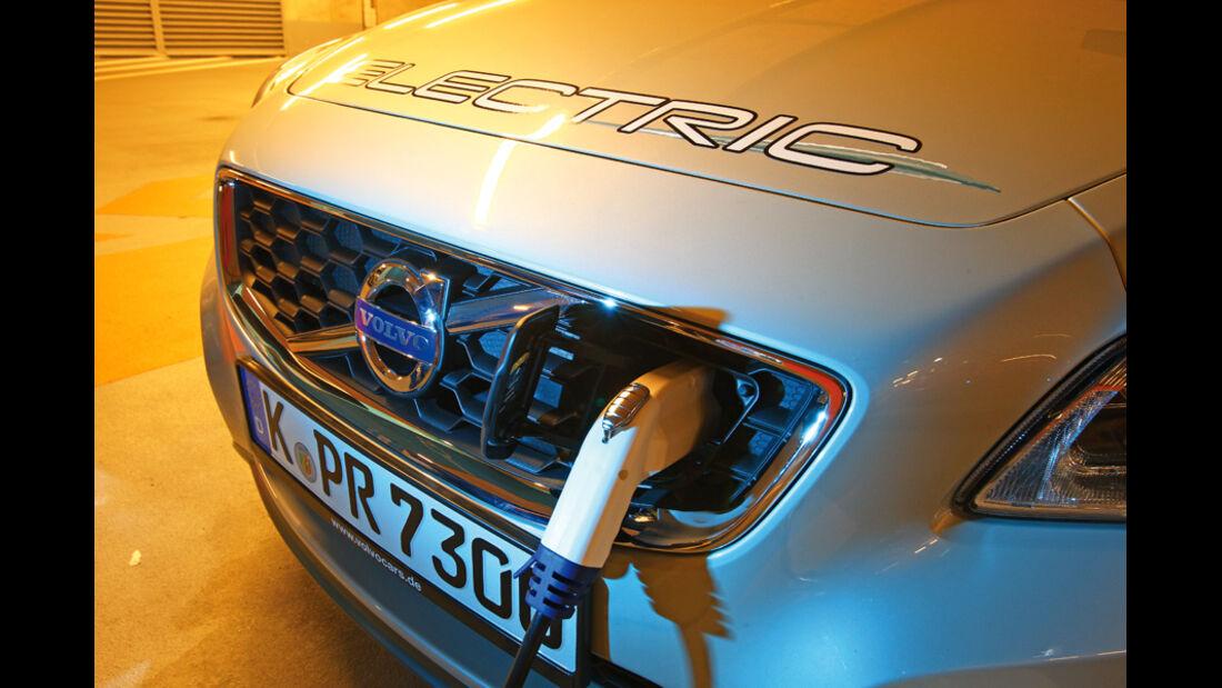 Volvo C30 Electric, Stromanschluss