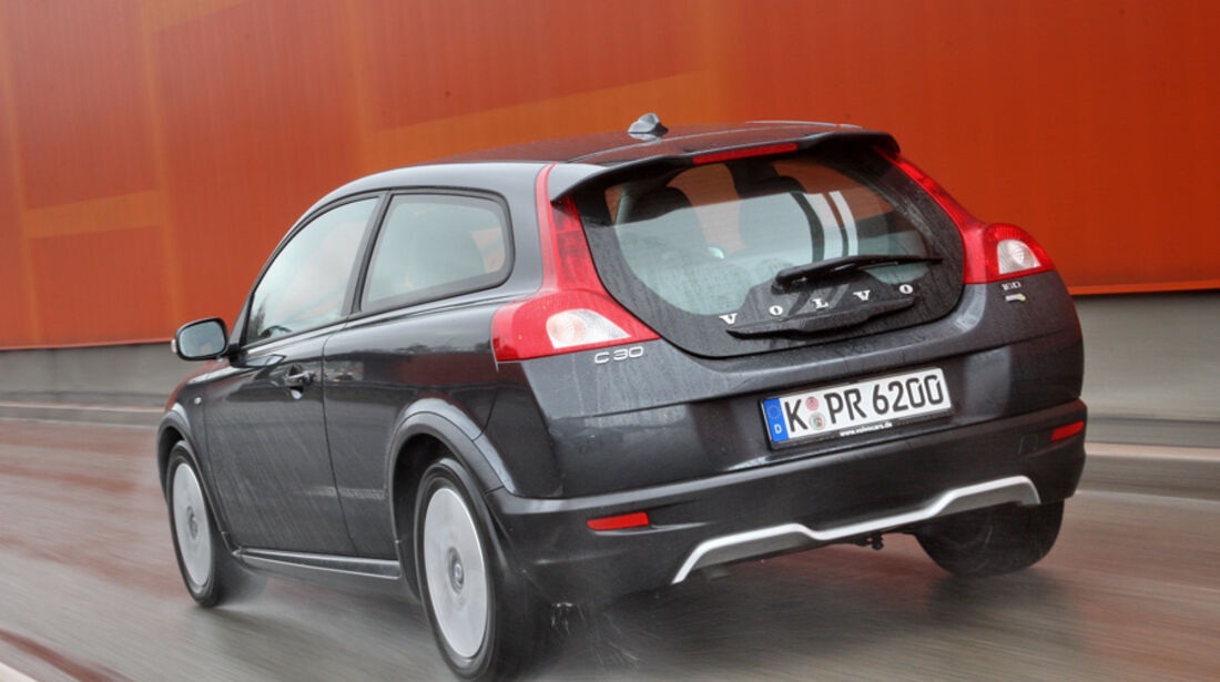 Volvo C30, Heck