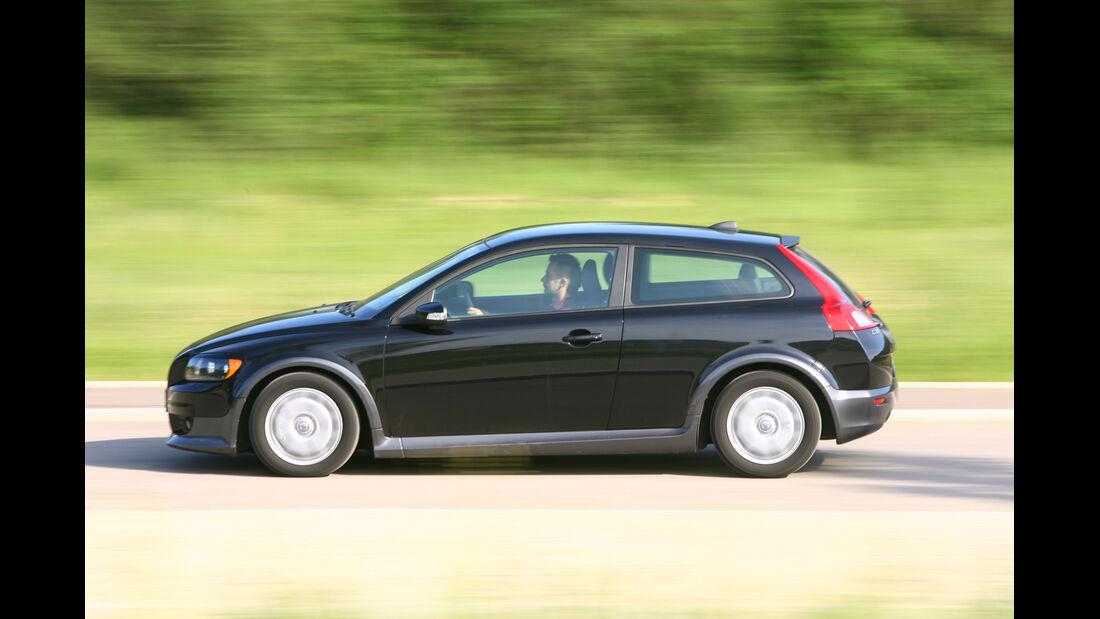 Volvo C30, Seitenansicht