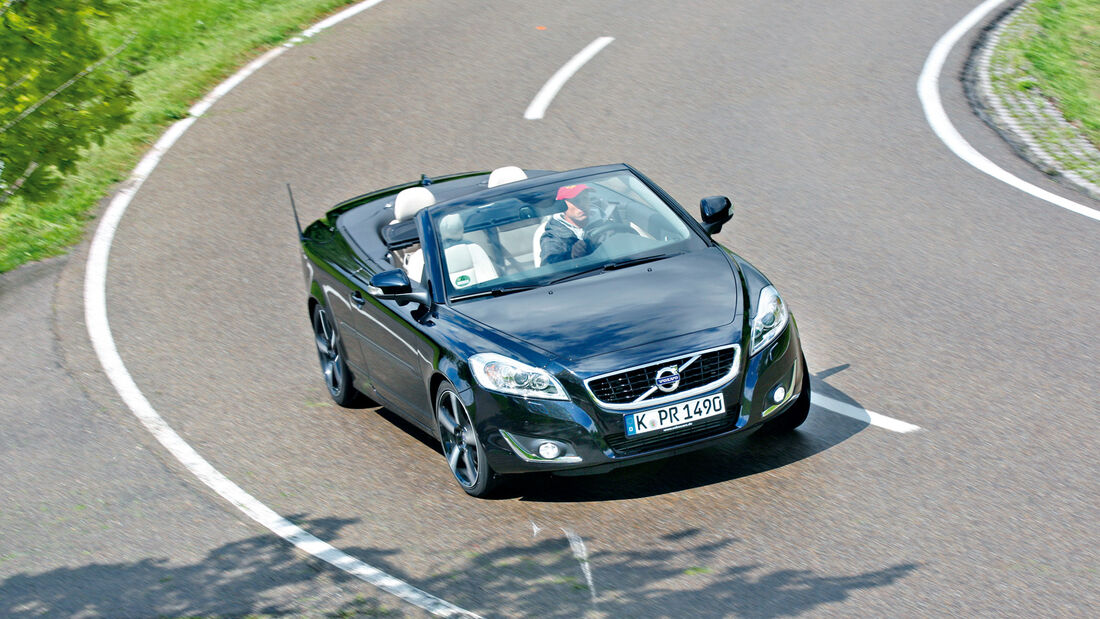 Volvo C70 D4 INSCRIPTION, Frontansicht