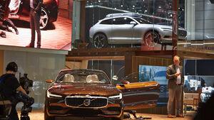 Volvo Concept, Genfer Autosalon, Messe 2014