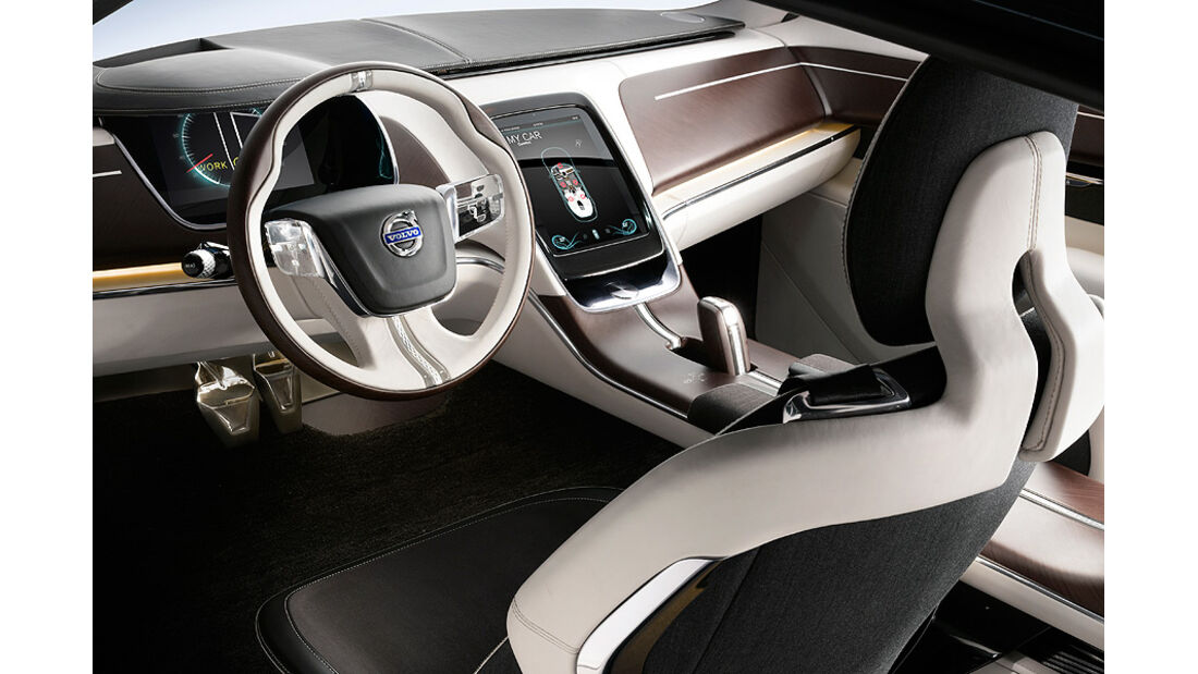 Volvo Concept You, Innenraum, Cockpit