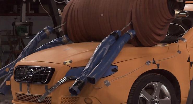 Volvo Elch Crashtest-Dummy