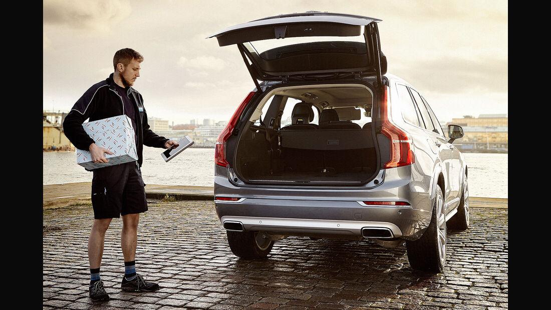 Volvo In-Car-Delivery Lieferdienst