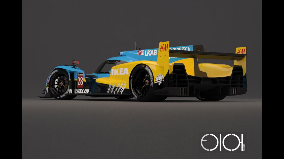 Volvo LMP1 Concept - Oriol Folch Garcia