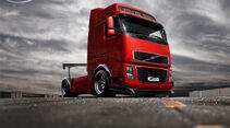 Volvo Lkw - Durci Photoshop Studie