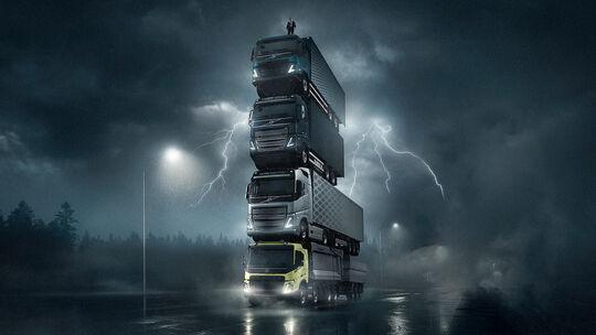 Volvo Lkw-Turm The Tower