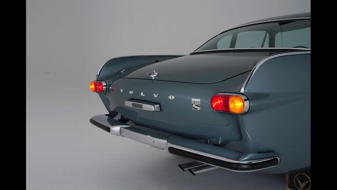 Volvo P 1800, Frontansicht