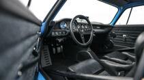 Volvo P1800 Cyan, Interieur