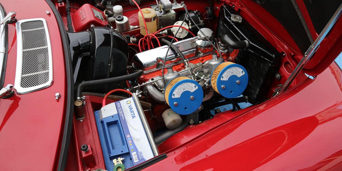 Volvo P1800 S, Motor