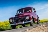Volvo PV 444, Frontansicht