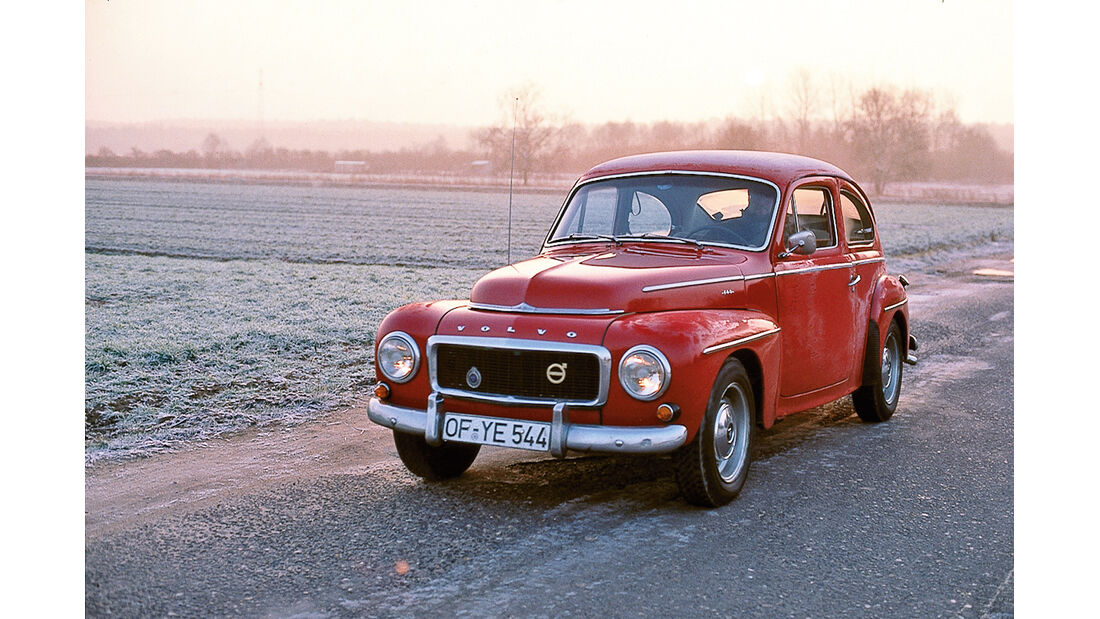 Volvo PV 54, Frontansicht