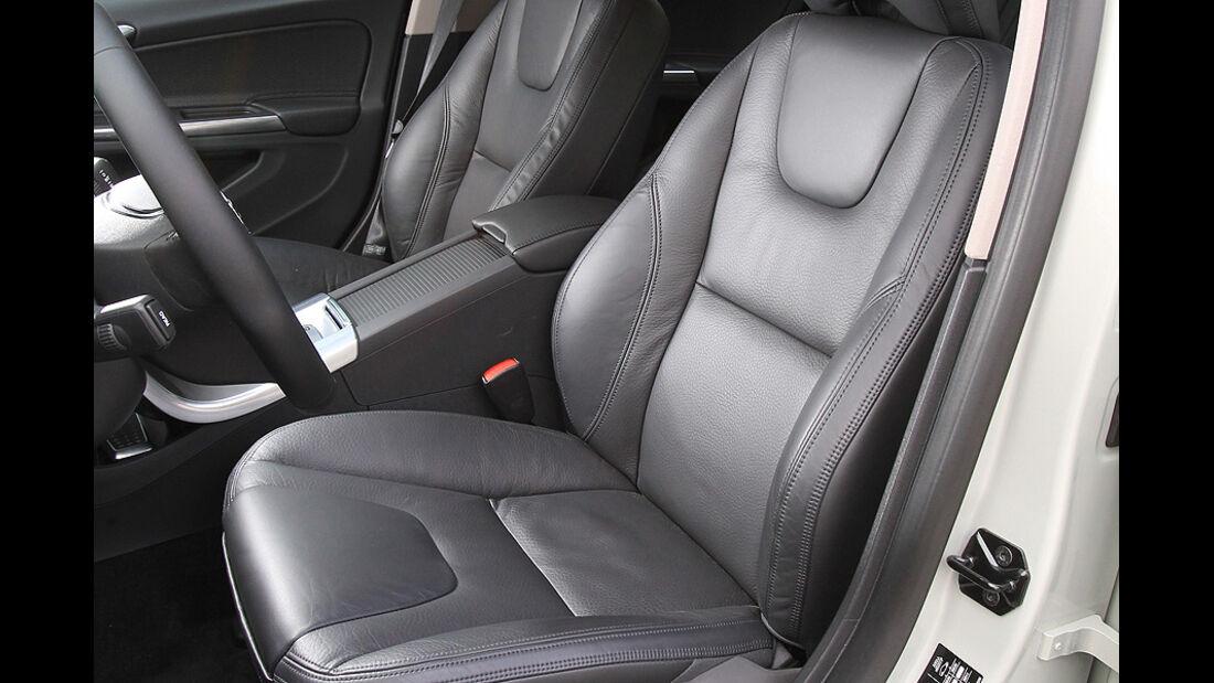 Volvo S60 2.0T Summum, ams 19/2010, Sitze