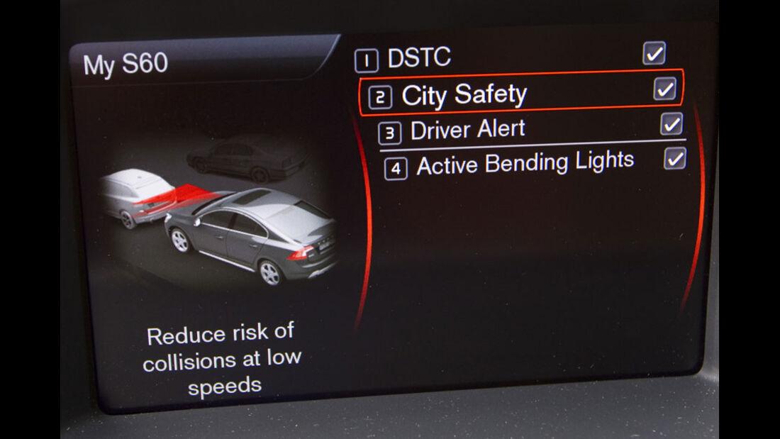 Volvo S60 Assistenzsystem