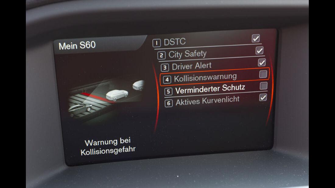 Volvo S60 D3, Sicherheitssystem