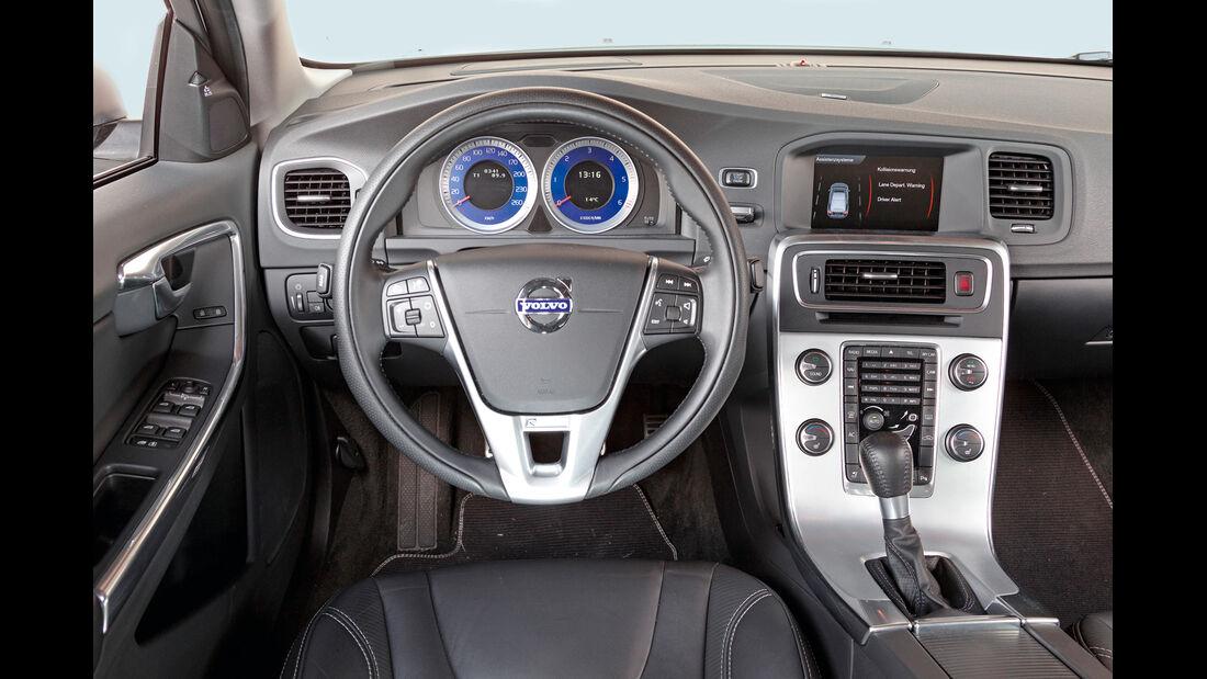 Volvo S60 D5 Polestar Edition R Design, Cockpit, Lenkrad