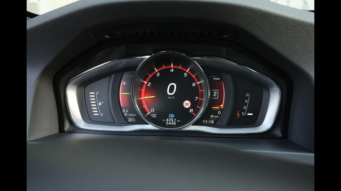 Volvo S60 Polestar, Anzeigeinstrumente