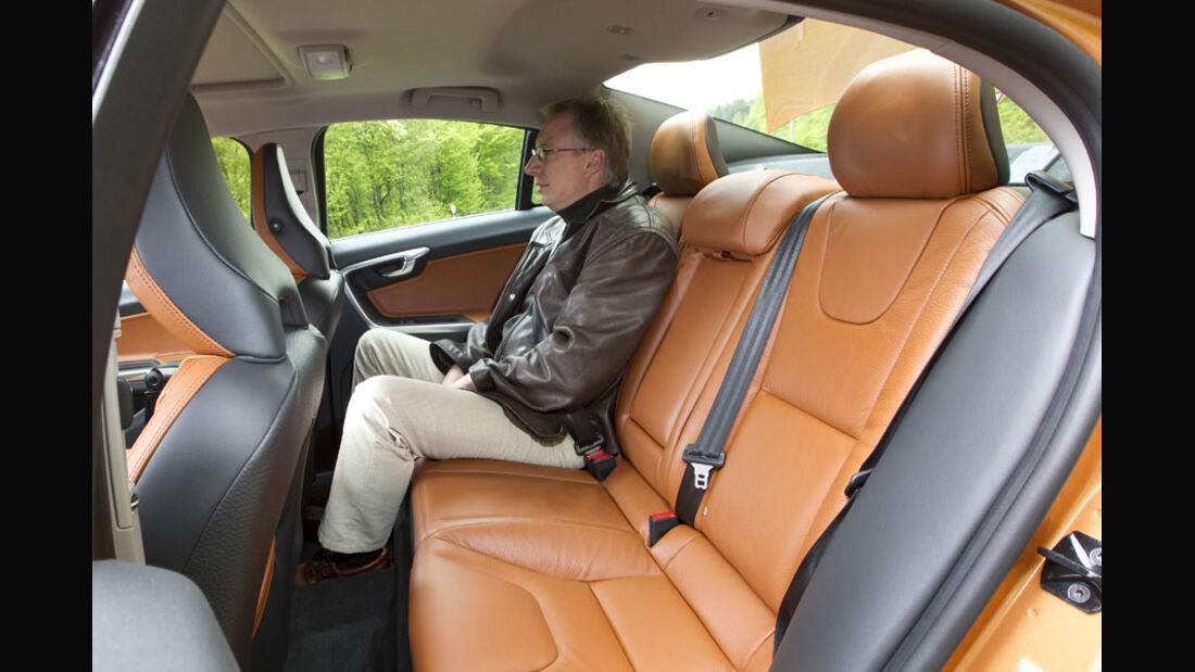 Volvo S60 Rückbank
