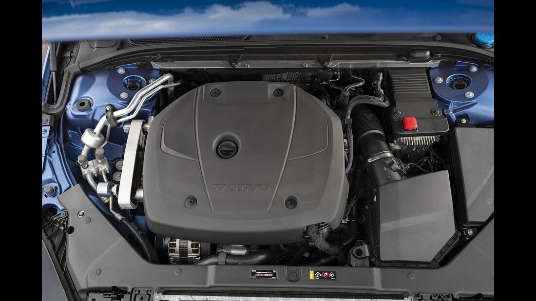 Volvo S60 T5, Motorraum