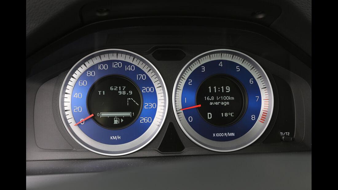 Volvo S60 T6 Polestar, Rundinstrumente