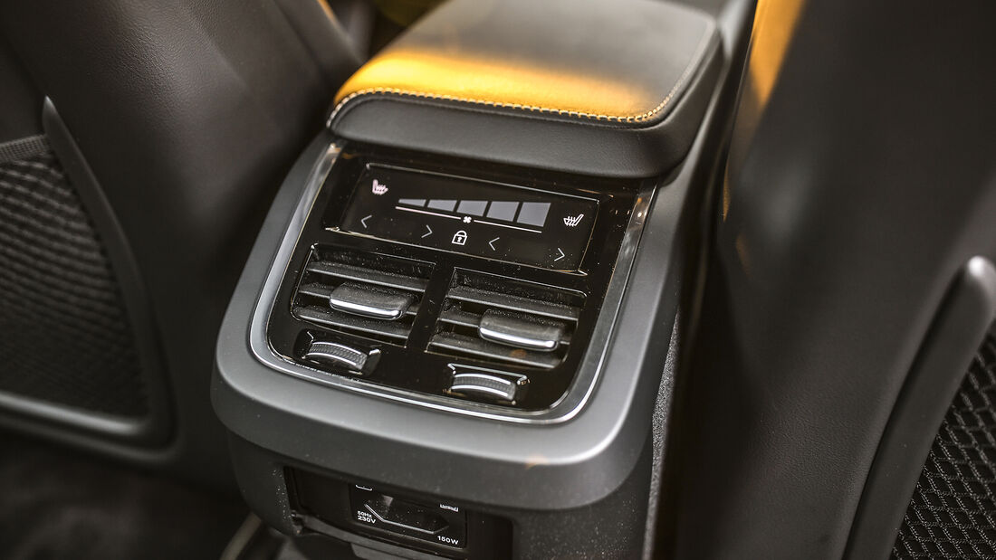 Volvo S60 TS, Interieur