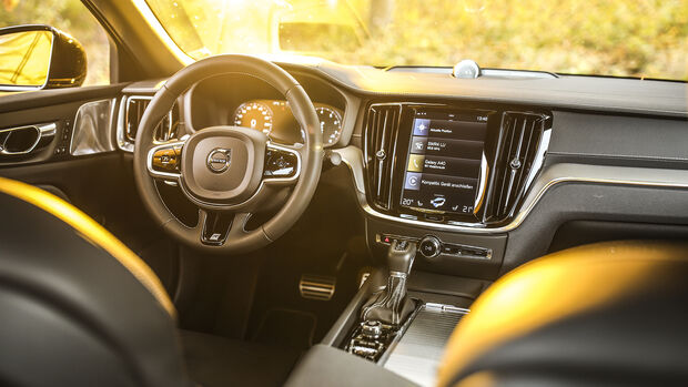 Volvo S60 TS, Interieur