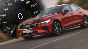 Volvo S60 Tempo Sperre Vmax