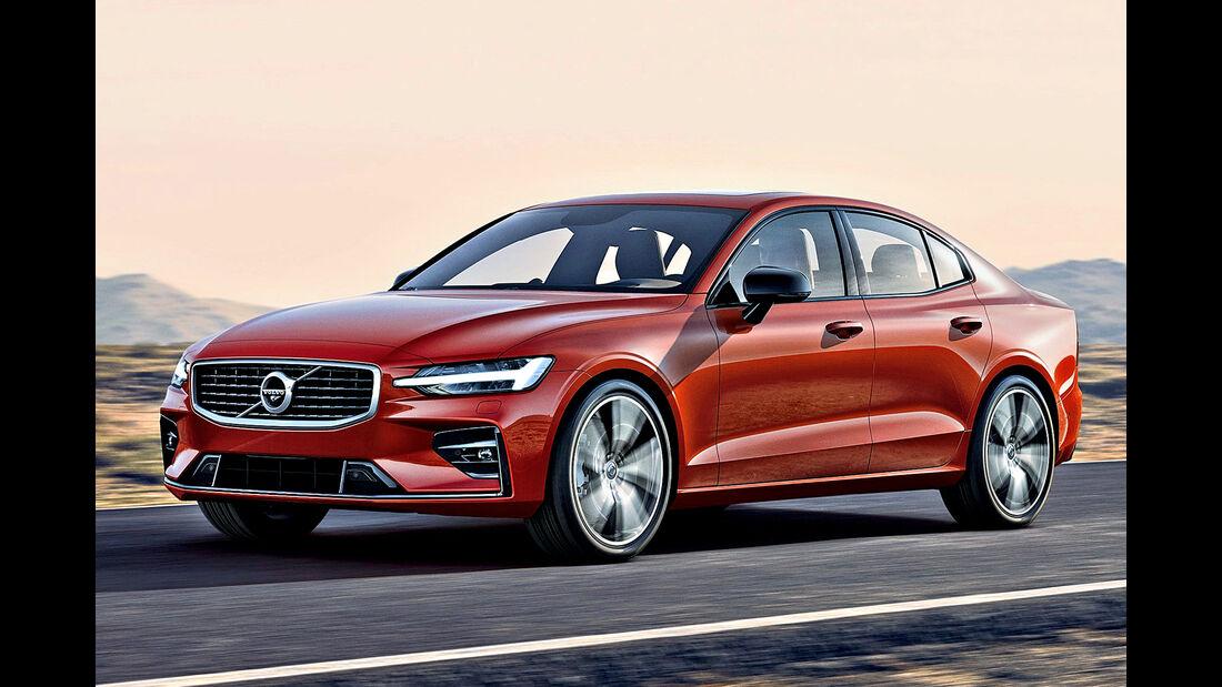Volvo S60 V60, Best Cars 2020, Kategorie D Mittelklasse