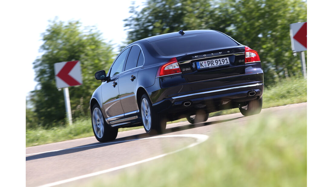 Volvo S80 D4, Heckansicht