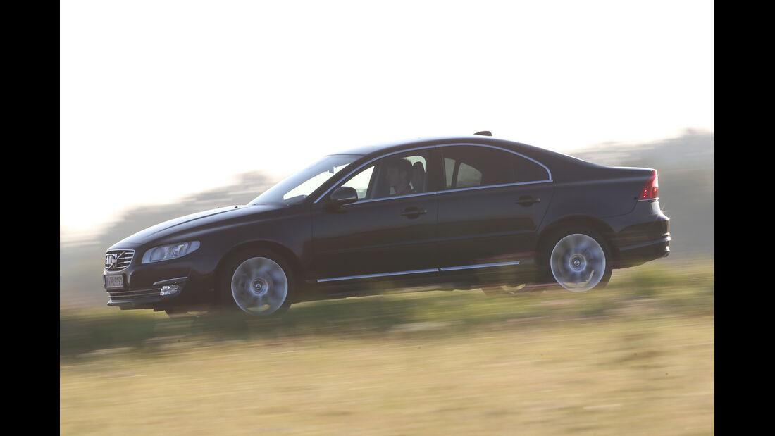 Volvo S80 D4, Seitenansicht