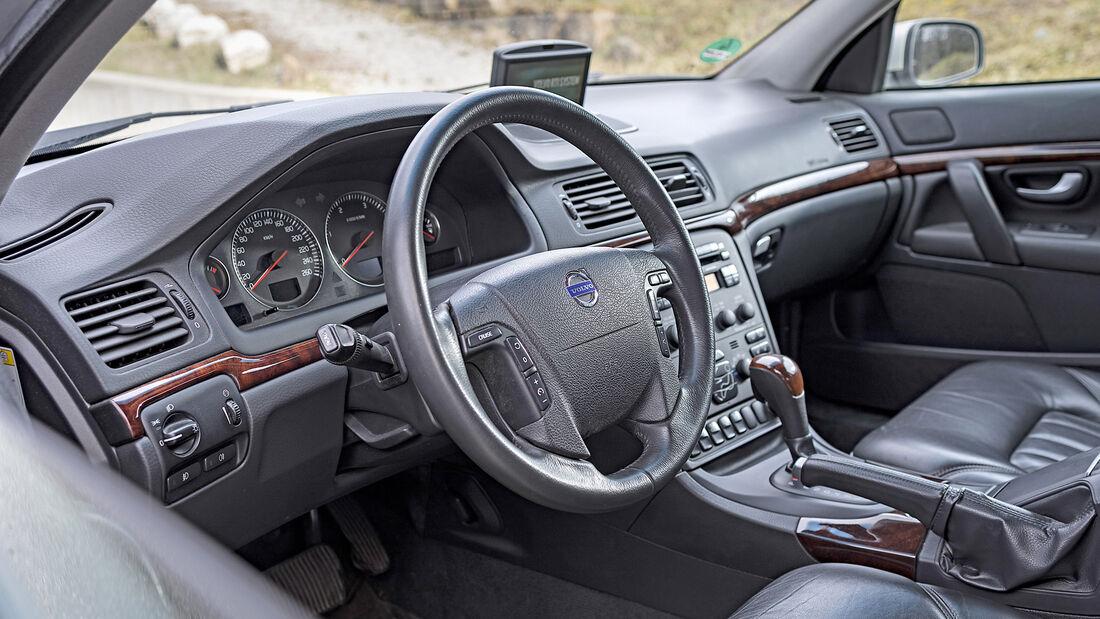 Volvo S80 D5, Interieur