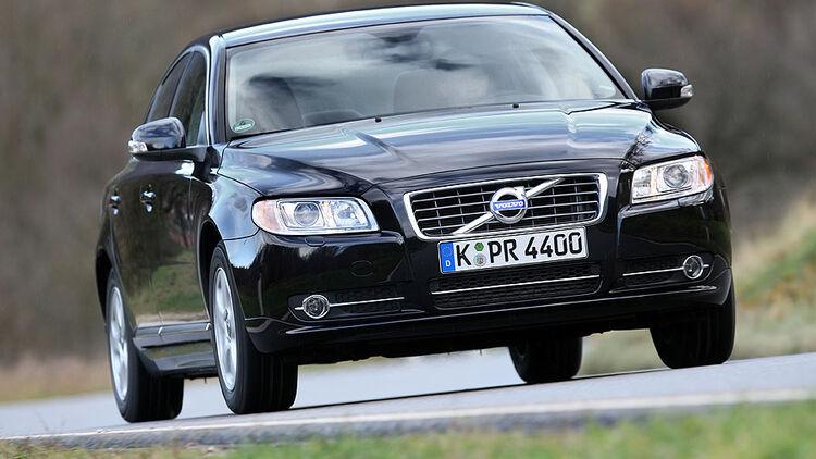 Volvo S80 1 6d Drive Im Test Große Limousine Mit Kleinem Motor Auto Motor Und Sport