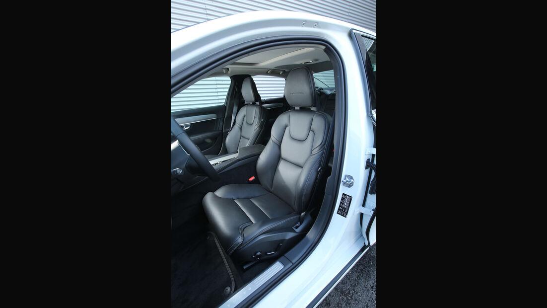 Volvo S90 D5 AWD, Fahrersitz