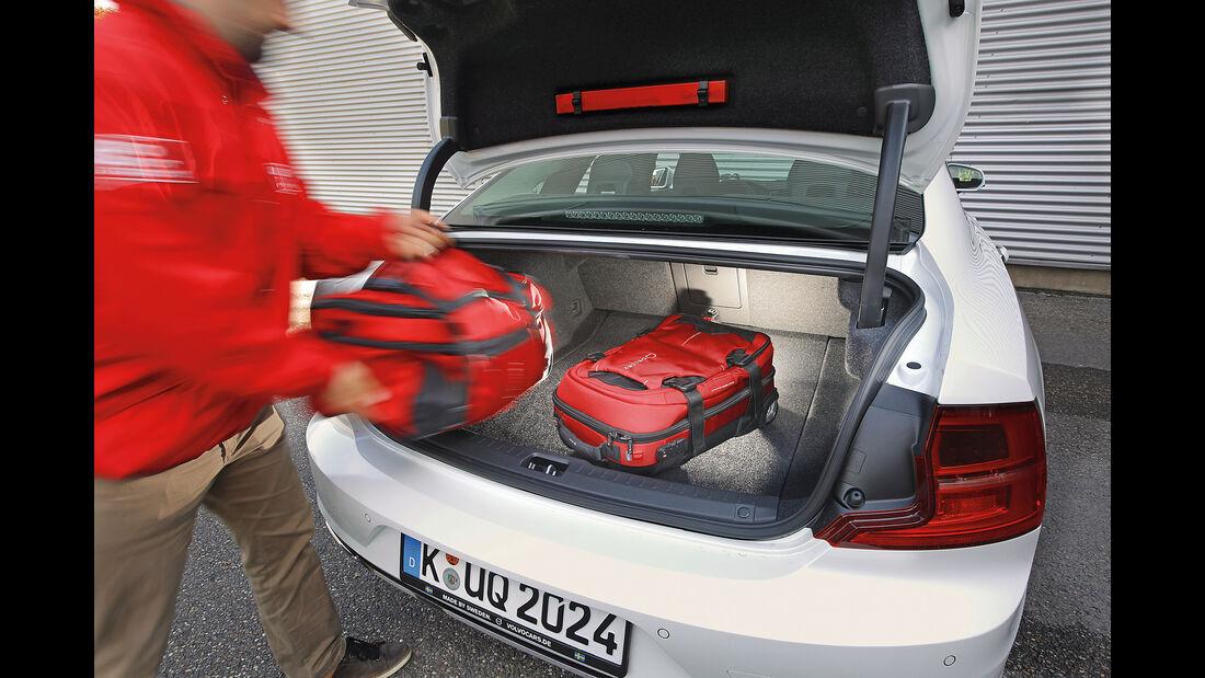 Volvo S90 D5 AWD, Kofferraum