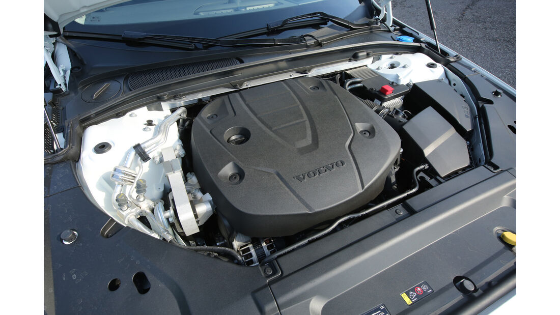 Volvo S90 D5 AWD, Motor