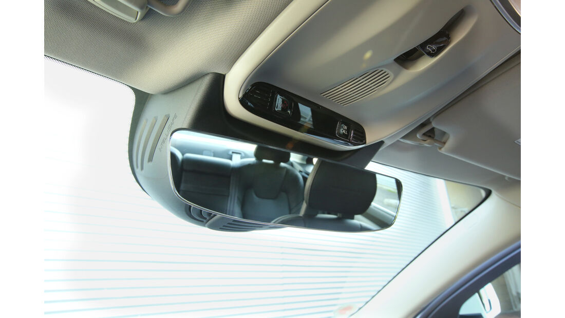 Volvo S90 D5 AWD, Rückspiegel