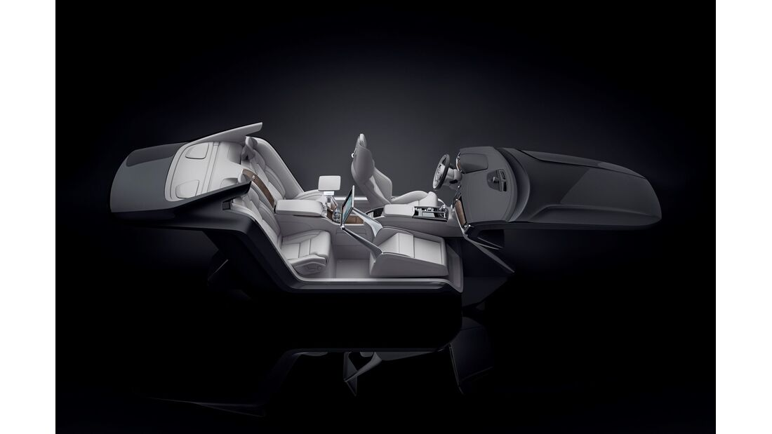 Volvo S90 Excellence Lounge Console