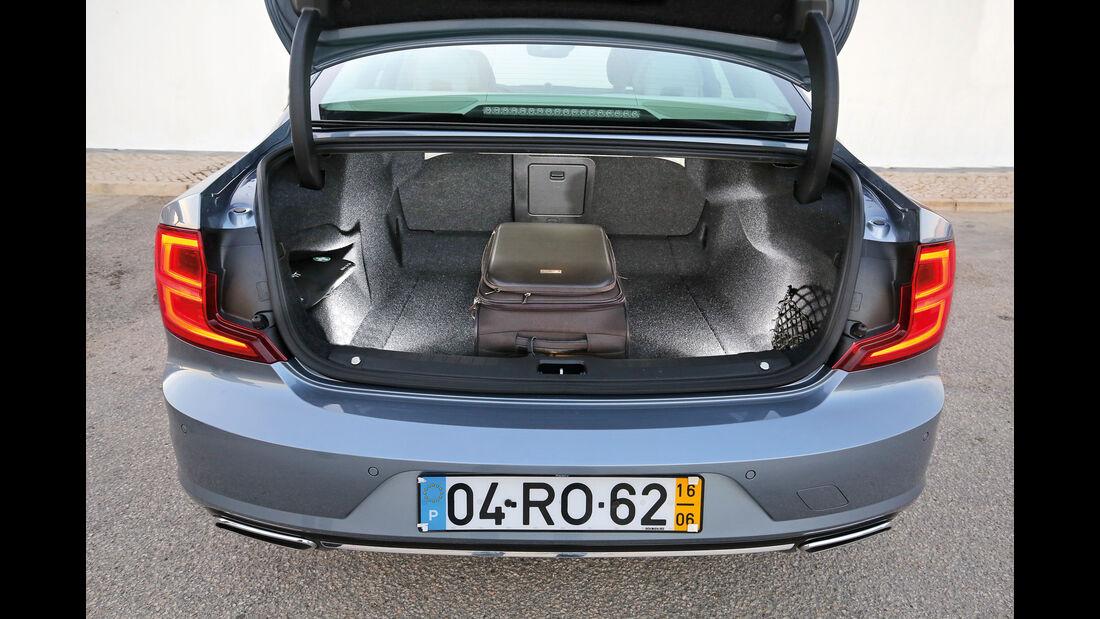 Volvo S90, Kofferraum